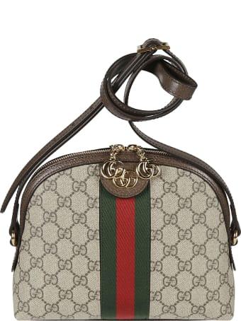 Gucci Logo Monogram Tote