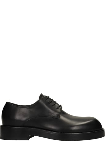 Ann Demeulemeester Oliver Lace Up Shoes In Black Leather