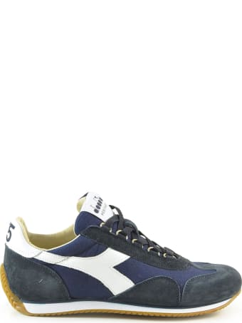 Diadora Heritage Blue Suede And Nylon Women's Sneakers