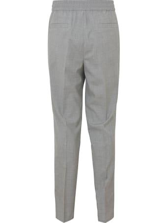 Brunello Cucinelli Drawstring Waist Plain Trousers