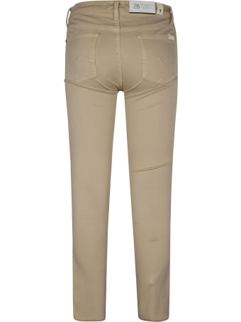 Seven London Skinny Cropped Jeans