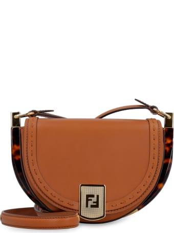 Fendi Moonlight Leather Crossbody Bag