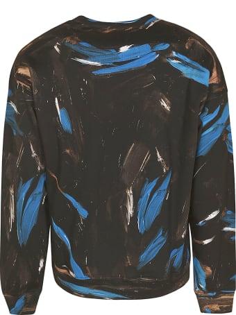 Moschino Painted Logo Sweatshirt