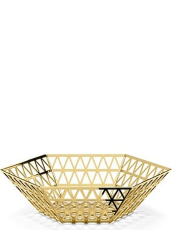 Ghidini 1961 Tip Top - Center Bowl Polished Gold