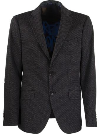 Etro Wool End Cotton Jacket Blazer
