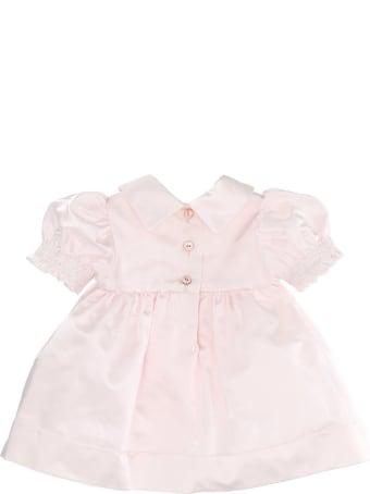 Chiara Ferragni Pink Eyeheart Twill Dress