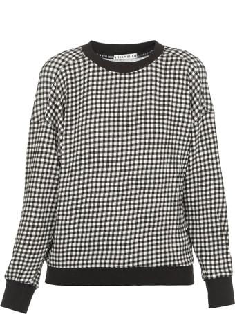 Alice + Olivia Cotton Blend Sweatshirt