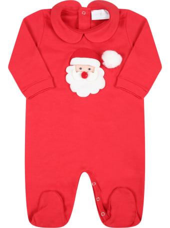 Story loris Red Set For Babykids With Santa Claus