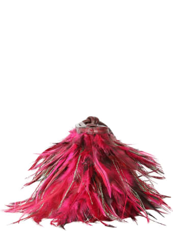 Dries Van Noten Pouch With Feathers