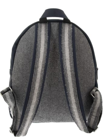 Brunello Cucinelli Wool Backpack With Print