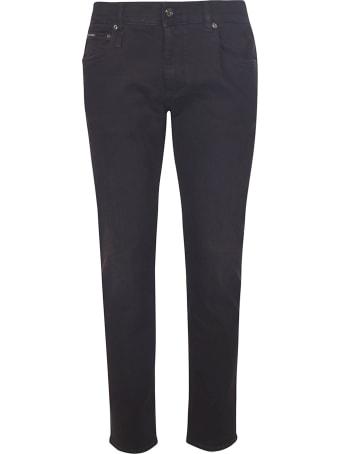 Dolce & Gabbana Rear Logo Patch Jeans