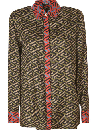 Versace All-over Printed Shirt