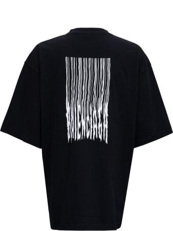 Balenciaga Cotton Oversize Barcode T-shirt