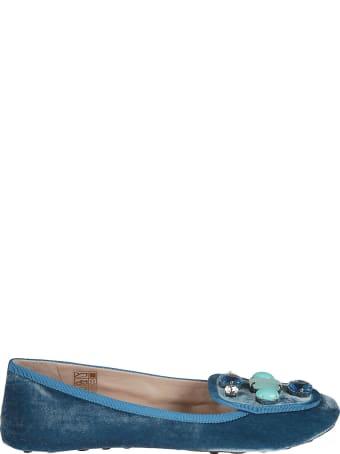 Car Shoe Crystal Embellished Slippers