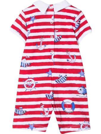 Monnalisa Striped Jumpsuit