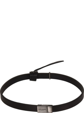 Saint Laurent Engraved Logo Bracelet