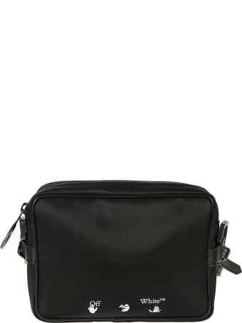 Off-White Ow Logo Nylon Crossbody Bag
