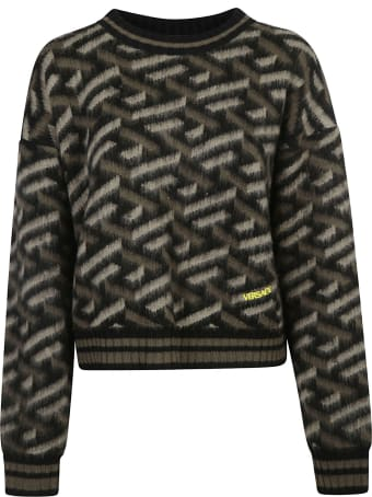 Versace Cropped Sweater