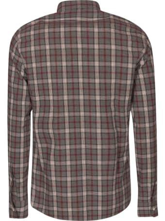 Brunello Cucinelli Check Print Shirt