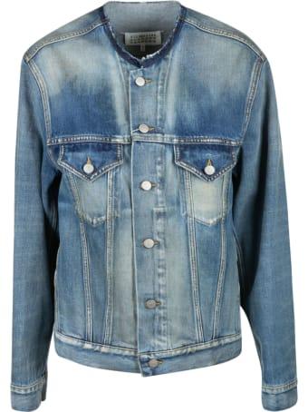 Maison Margiela Denim Buttoned Jacket