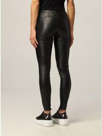 Armani Collezioni Armani Exchange Pants Faux Leather Leggings
