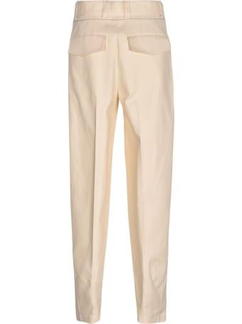 Jil Sander Wide-leg Zipped Front Trousers