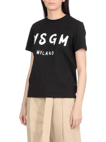 MSGM Cotton T-shirt