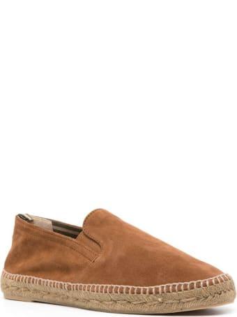 Castañer Joel Light Brown Leather Espadrille