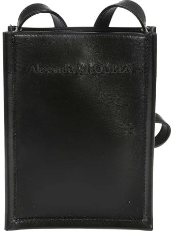 Alexander McQueen Logo Mini Shoulder Bag