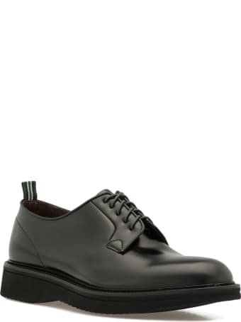 Green George Smooth Leather Lace Up Shoe