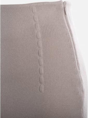 Fendi Karligraphy Cashmere Skirt