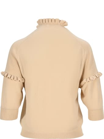 Chloé Chloe' Ruffled Sweater