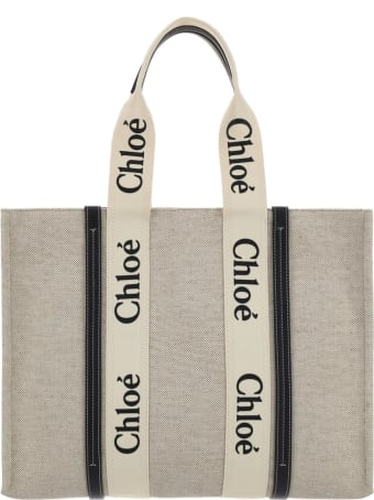 Chloé X Mifuko Woody Large Tote Bag