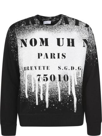 ih nom uh nit Atelier Spray Crewneck Sweatshirt
