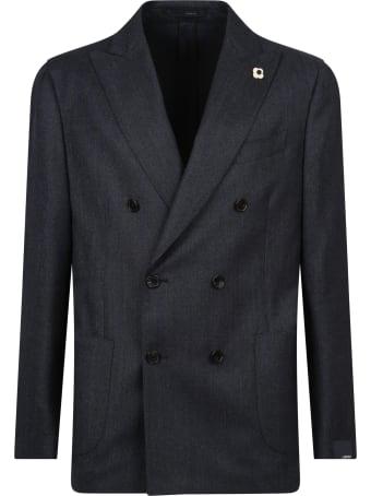 Lardini Double-breasted Suit
