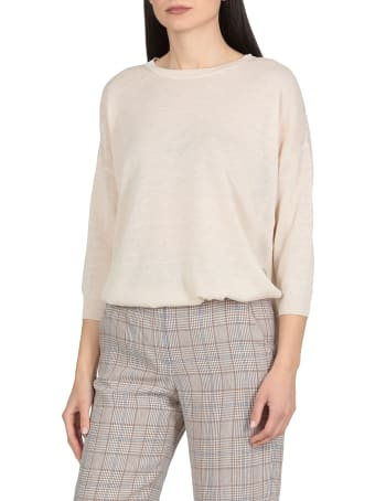 Peserico Linen And Cotton Blend Sweater