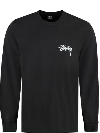 Stussy Spring Weeds Pigment Dyed Long Sleeve T-shirt