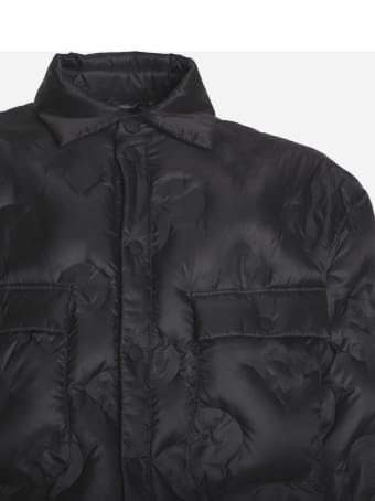 Dolce & Gabbana Padded Jacket With All-over Quilted Logo
