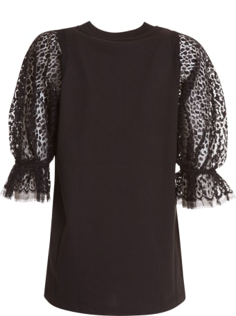 Givenchy Black Cotton Top