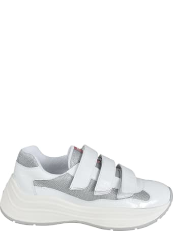 Prada Strappy Sneakers