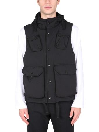 Engineered Garments Hooded Vest Jacket