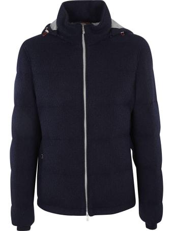 Brunello Cucinelli Regular Zip Hooded Padded Jacket