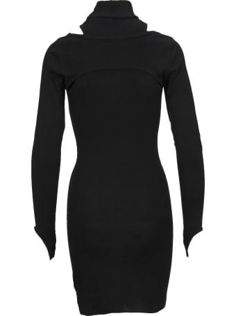 Helmut Lang Dress Cotton Rib
