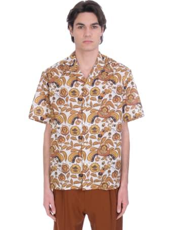 CMMN SWDN Shirt In Beige Cotton