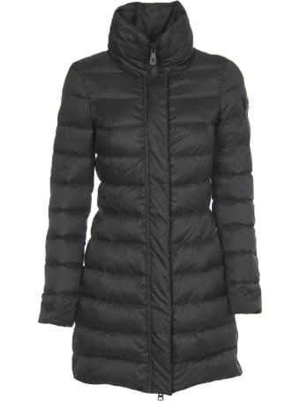 Peuterey Long Black Down Jacket