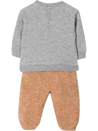 Il Gufo Brown Suit Unisex Kids