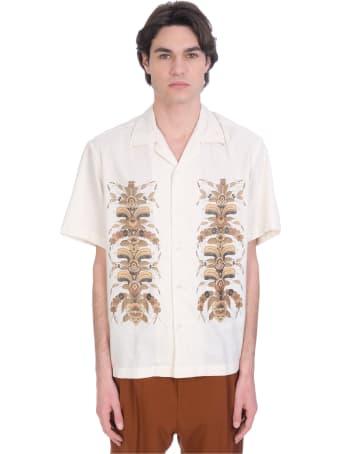 CMMN SWDN Shirt In Beige Silk