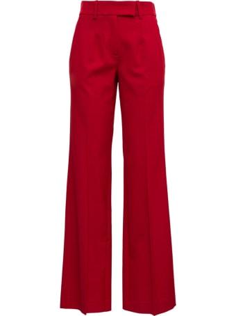 Tela Red Pants In Wool Blend