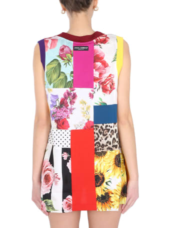 Dolce & Gabbana Sleeveless T-shirt