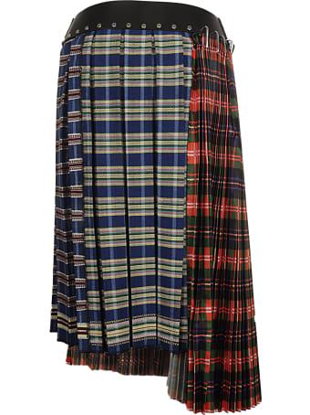Chopova Lowena Polyester And Wool Skirt